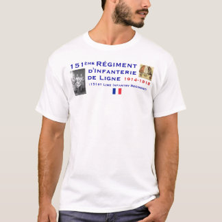 Camiseta 151a infantería del francés