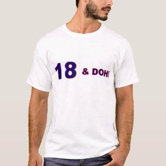 Camiseta ¡18 y do!!!