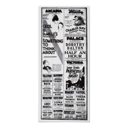 Camiseta 1920 de los anuncios de la película del v posters