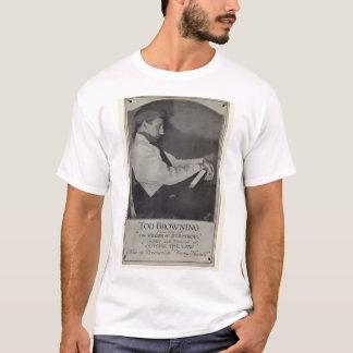 Camiseta 1921 del retrato del vintage de Tod