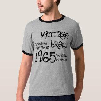 Camiseta 1965 del regalo de los años 50 de la