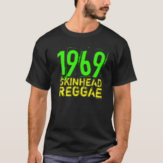 Camiseta 1969 del REGGAE de la CABEZA RAPADA