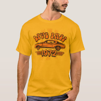 Camiseta 1972 del gráfico de Buick GS