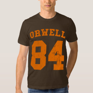 Camiseta 1984 del jersey de George Orwell