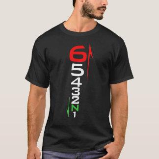 Camiseta 1 abajo 5 para arriba
