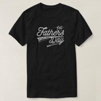 Camiseta 1r primer vintage feliz del día de padre apenado