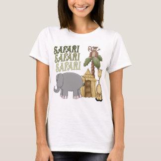 Camiseta 1r Safari del cumpleaños