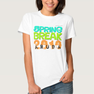Camiseta 2010 del blanco de Aruba de las