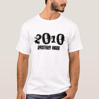 Camiseta 2010, enfermera registradoa