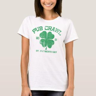 Camiseta 2011 del arrastre de Pub del día de St