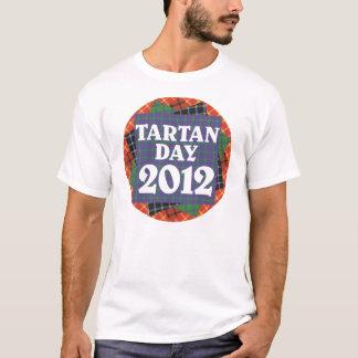 Camiseta 2012 del día del tartán