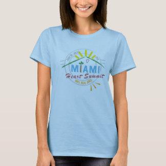 Camiseta 2012 - mujeres de la cumbre del corazón