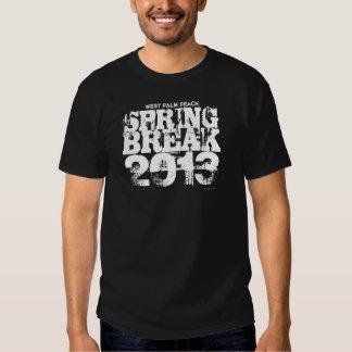 Camiseta 2013 de West Palm Beach de las vacaciones