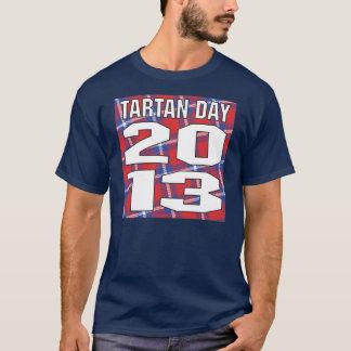 Camiseta 2013 del día del tartán