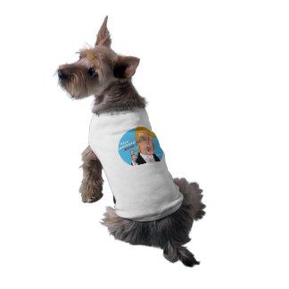 Camiseta 2016 del perro del dibujo animado de