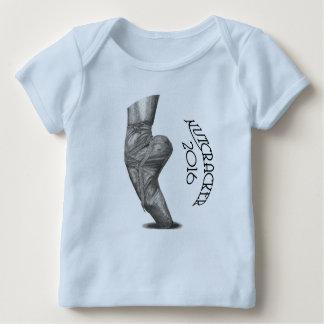 Camiseta 2016 del revestimiento del bebé del