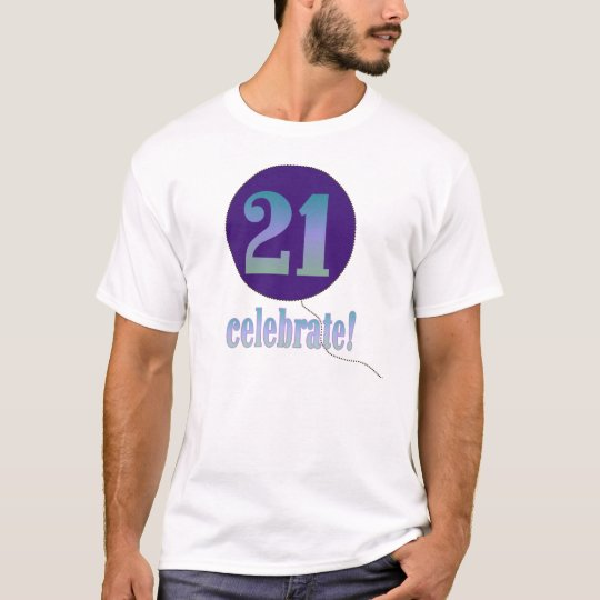 Camiseta 21 celebre