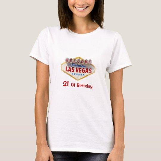 Camiseta 21ro Muñeca de las señoras de Las Vegas del