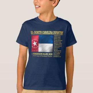 Camiseta 22do Infantería de Carolina del Norte (BA2)
