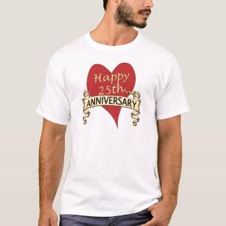 Camiseta 25to. Aniversario