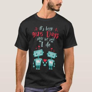 Camiseta 25to Regalo del aniversario de boda Shirt.Cute