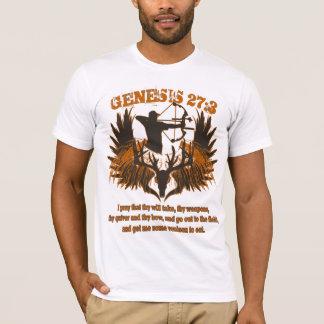 Camiseta 27:3 de la génesis