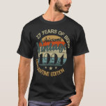 Camiseta 27 Years Of Being Awesome Vintage 1994