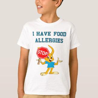 Camiseta 2 de las alergias alimentarias de