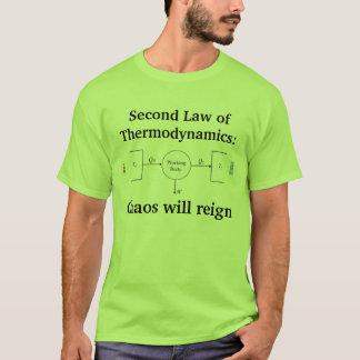 Camiseta 2do Ley de la termodinámica