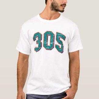 (camiseta 305 del código de área) camiseta