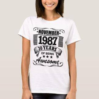 Camiseta 30 años de ser impresionante