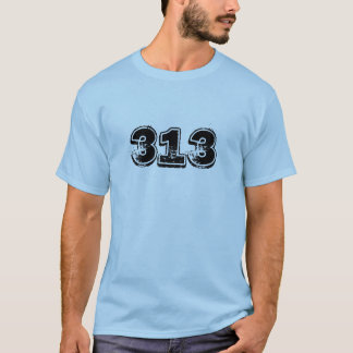 camiseta 313 (de Detroit)