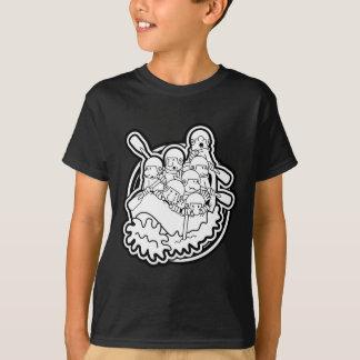 Camiseta 38. Logotipo de la balsa