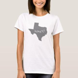 Camiseta <3 casero Tejas
