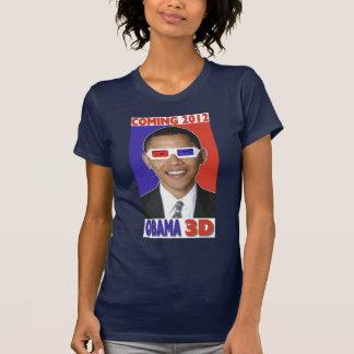 Camiseta 3D de Obama 2012