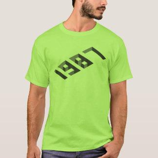 Camiseta 3D efecto - 1987