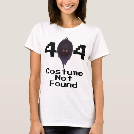 Camiseta 404: Traje no encontrado