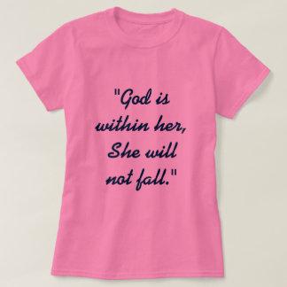 Camiseta 46:5 del salmo