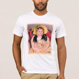 Camiseta 46a Sara con su perro