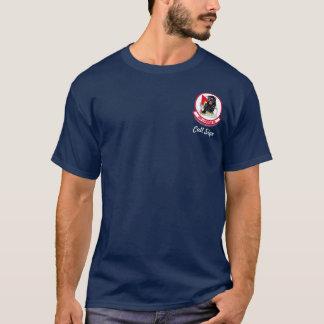 Camiseta 494o FS con F-15E - (color oscuro)