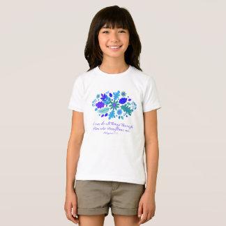 Camiseta 4:13 de los filipenses - puedo hacer toda la