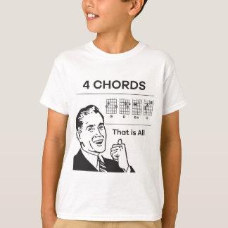 Camiseta 4 acordes