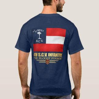 Camiseta 4to Infantería de Carolina del Sur