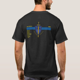Camiseta 4to Pelotón con nombres de departamento