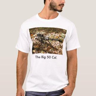Camiseta 50 calorías grandes. Arma