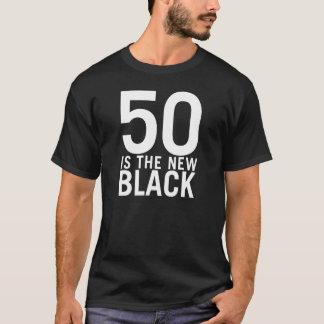 CAMISETA 50 ES EL NUEVO NEGRO