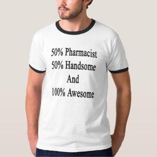 Camiseta 50 farmacéutico 50 hermoso y 100 impresionantes