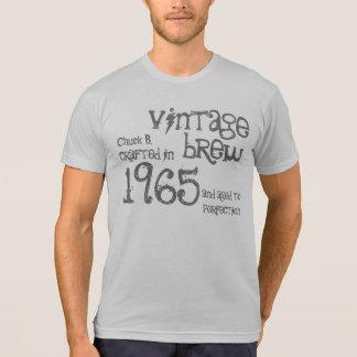 Camiseta 50.o Cumpleaños Brew G203E4 del vintage de 1965 o