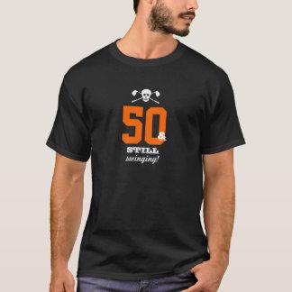 Camiseta 50.o cumpleaños - todavía balanceando - cráneo del
