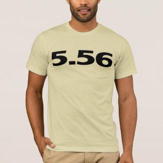 Camiseta 5,56 Arma AR15